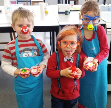 Edward, William and Victoria Bake off