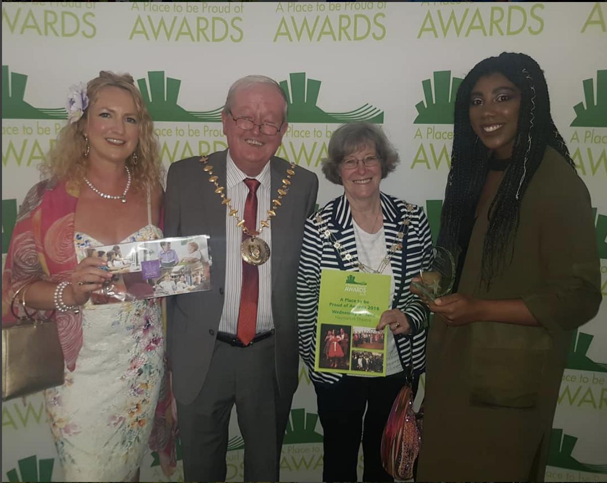Volunteer of the Year Award at Basingstoke Place