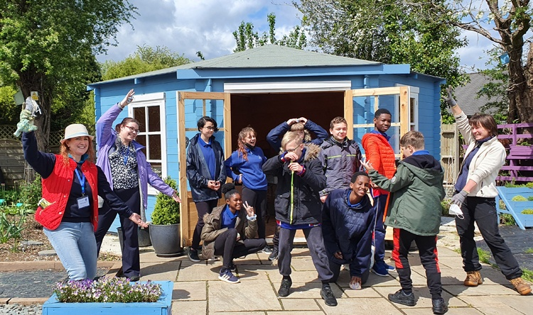 Vyne Academy School students group 2 May 2021